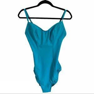 Victoria's Secret One Piece Swimsuit Size 12C Blue